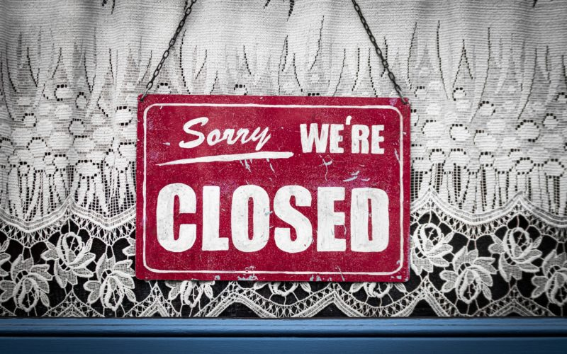 Holidays Closure